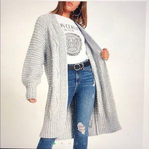 River Island asos sweater long cardigan jacket S